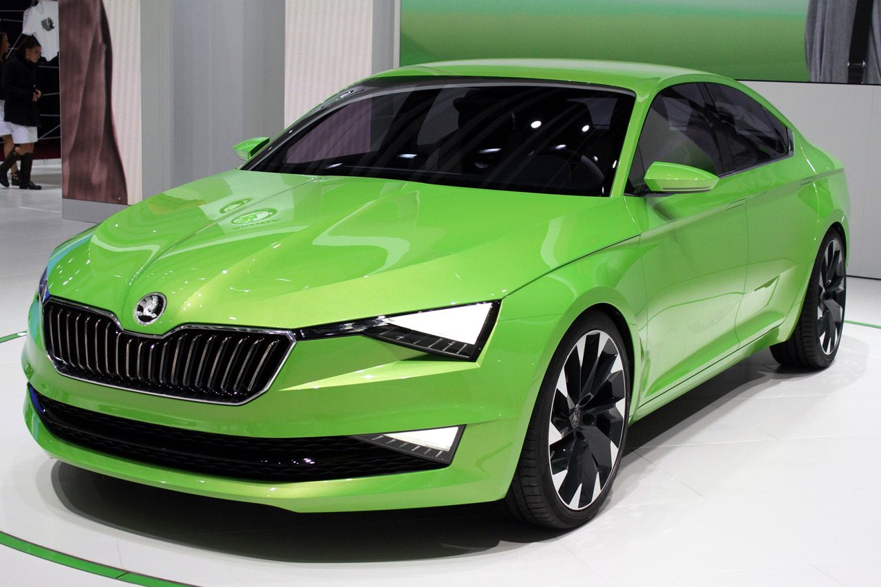 prototip Skoda superb 3